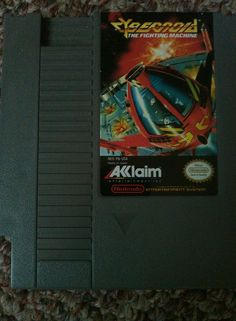 Cybernoid The Fighting Machine NES-YN-USA Japan Acclaim Nintendo Game 1985