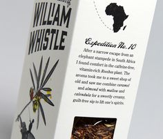 The Adventurous blends of William Whistle.