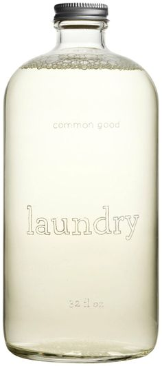 Common Good Laundry Detergent. Bonus: Looks pretty on the shelf :)