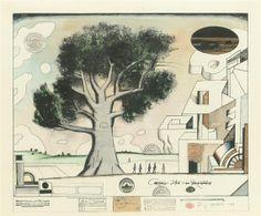 Saul Steinberg, The tree