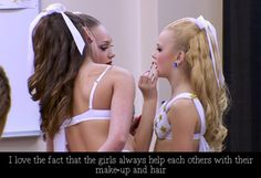 Like chloe said before she left they always worked together won or lost Watch Dance Moms, Dance Moms Funny, Dance Moms Facts, Dance Moms Girls, Dance Moms Confessions, All About Dance, Show Dance, Win Or Lose, These Girls