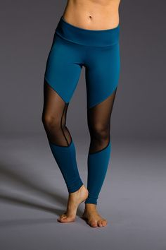 Beautiful color with super sexy mesh! The Rouge track Legging is a color blocked legging with slimming lines and striking colors. You'll never go unnoticed in these amazing pants! Available Size: X/S,