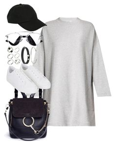 """""""Untitled #2233"""" by sarah-ihab ❤ liked on Polyvore featuring Acne Studios, Chloé, Hot Topic, Topshop and ASOS"""