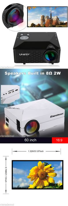 Home Theater Projectors: 7000 Lumen Hd 1080P Led 3D Vga Hdmi Atv Multimedia Home Theater Projector Cinema -> BUY IT NOW ONLY: $77.99 on eBay!