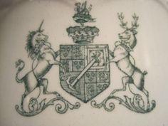 Unicorn Stag Crest Logo