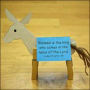 Using this for our Preschool Palm Sunday Craft! How cute!!!