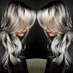 """@franksjason  love this smoky silver melt.  @franksjason"" Photo taken by @imallaboutdahair on Instagram, pinned via the InstaPin iOS App! http://www.instapinapp.com (11/06/2015)"