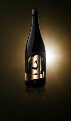 Wine Bottle Design, Wine Label Design, Bottle Packaging, Bottle Labels, Best Sake, Plum Wine, Champagne Label, Japanese Wine, Wine And Beer