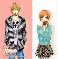 Naruse y Yuki // Namaikizakari Naruse Shou, Couple Manga, Namaikizakari, Otaku, Usui, Kaichou Wa Maid Sama, Manga Covers, Cute Anime Couples, I Love Anime