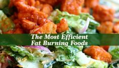 The Most Efficient Fat Burning Foods - The best fat burning foods include vegetables, fruits, sea food, but also seeds and spices, coffee and teas.