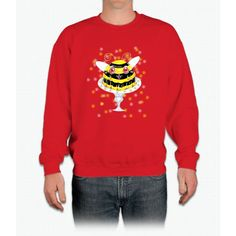 Bee Pudding Bee Movie Crewneck Sweatshirt