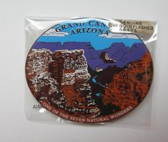 Grand Canyon Magnet Travel Gift - These are great collectibles for places that you've visited. Our refrigerator is filled with magnets from everywhere we've gone as a family, and it makes for nice memories to remember that great family trip. It's a fun family tradition. Also makes a nice sentimental gift.