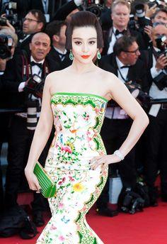 Cannes WERQ: Fan Bingbing in Chris Bu Kewen | Tom + Lorenzo