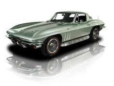 1966 Mosport Green L79 4 Speed Chevrolet Corvette Coupe