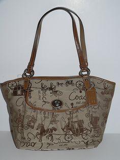 Coach Horse & Carriage Leah Purse- $219.99  Retail $268