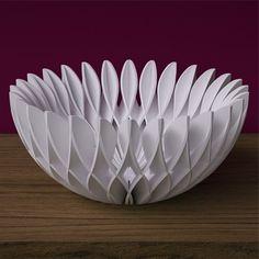 3D Printed Home Decor. 3D printed bowl.