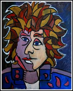 Mixed-Up Confusion (Picasso Dylan). Limited Edition Print £100 - Dylan portraits and paintings