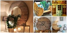 15+ Fab Art DIY Wood Wire Spool Furniture Ideas and Tutorials | www.FabArtDIY.com