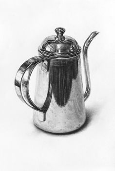 Pencil Drawing Tutorials Find sketches and drawings - Realistic Drawings, Sketches, Art Drawings, Drawing Illustrations, Still Life Art, Metal Drawing, Object Drawing, Art, Life Art