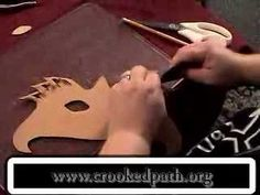 Crooked Path Video Episode 4 - Making Masks - YouTube