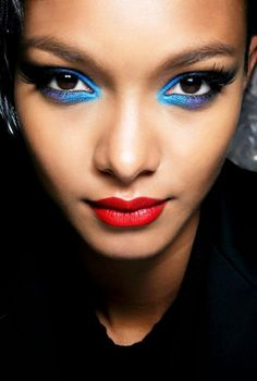 #gorgeous #blueeyemakeup