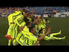 Fraja tv: Barcelona players celebrating on the pitch - Barcelona Campeon de Liga 2014/2015 HD