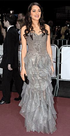 200 Celebrity Looks We Love - Marion Cotillard in Giorgio Armani Privé, 2007  from #InStyle