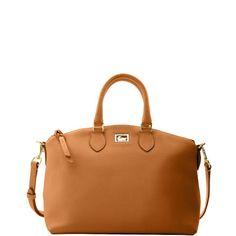 Dooney & Bourke: Dillen Satchel in this tan color $278