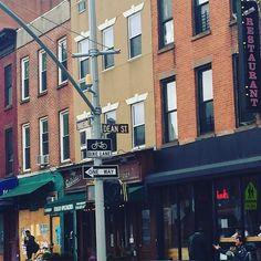 First stop Brooklyn. Hello 'Dean St.'  by deanmasonmusic