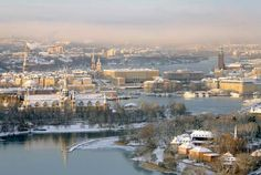 Vinter Stockholm
