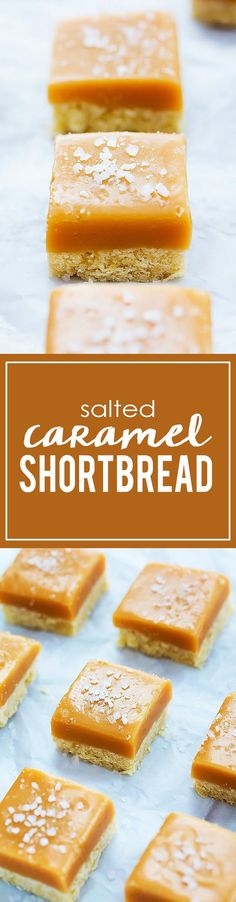 Buttery shortbread crust layered with thick, chewy, rich caramel and topped with sea salt for irresistible flavor! I may or may not be…