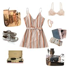 Senza titolo #1 by francescaschiavo on Polyvore featuring polyvore, fashion, style, American Eagle Outfitters, Converse, Astley Clarke, Crosley and clothing
