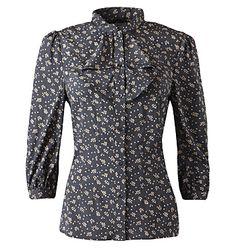 JIGSAW, Heart print 3/4 sleeve blouse, silk Jigsaw Clothing, Dress Outfits, Fashion Outfits, Dresses, Heart Print, British Style, Work Wear, Cashmere, Silk