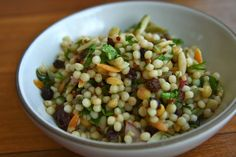 domestic reflections: Israeli Couscous Salad.