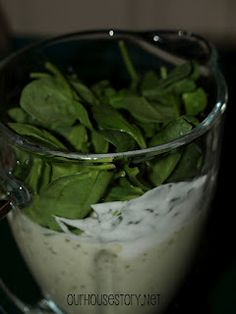 Green monster smoothie.  Healthy and addictive (in a good way). Pineapple coconut smoothie with spinach