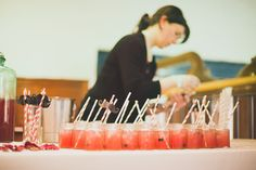 Reception drinks with striped straws and moustache's - Image by Sasha Weddings - A victorian red & Ivory colour scheme at the London Museum of Water & Steam with beardy steampunk gay couple Wedding Drink Menu, Wedding Venues, Wedding Ideas, London Museums, Steampunk Wedding, Gay Couple, Straws, Cocktail Drinks, Steampunk Fashion