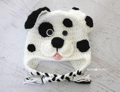 Kulakları Örten Dalmaçyalı Köpek Şapka Yapılışı