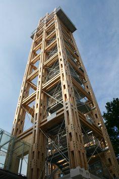 Graf-Holztechnik - Leistungsbereiche - Aussichtstürme - Aussichtsturm und…