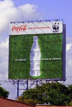 Innovative Billboard by @CocaCola   #creativity #billboard #advertising #advertisement