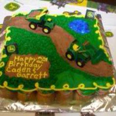 Cupcake cake choice #1!