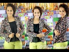 Blazer Inverno - CORTE E COSTURA - YouTube