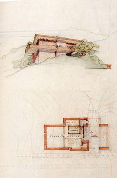 Arch Oboler Frank Lloyd Wright House                                                                                                                                                     Plus