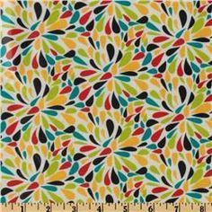 Modern Burst in Citrus by Robin Zingone for Robert Kaufman Fabrics