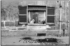 Henri Cartier-Bresson - Paris suburbs. 1955.