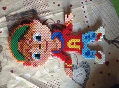 Alvin chipmunk perler beads pyssla