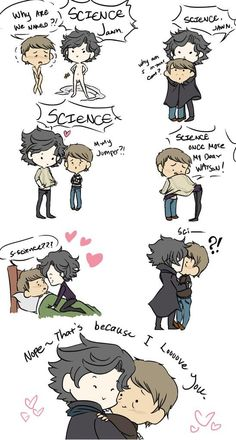 FOR SCIENCE. And <3. --- adorable XP