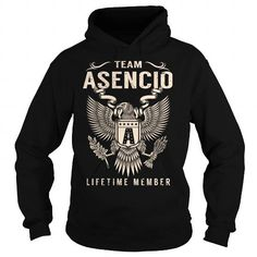 I Love Team ASENCIO Lifetime Member - Last Name, Surname T-Shirt T shirts