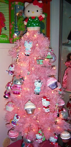 I swear to God I must have found my twin... a Barbie collector, Hello Kitty Lover and Cupcake hoarder!  I MUST MEET HER!