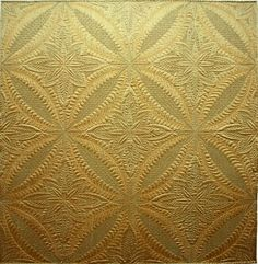 Quilt Inspiration: Delicate Intricacies: The Wholecloth Quilts of Cindy Needham