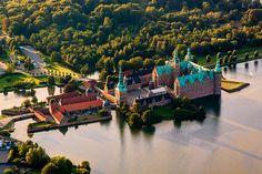 Frederiksborg Castle by Ulrich J, via Flickr